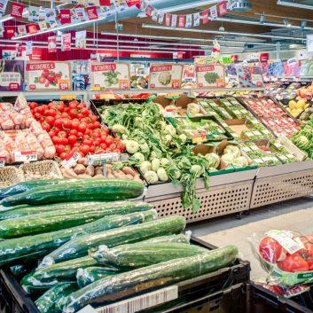 Rundgang Supermarkt REWE